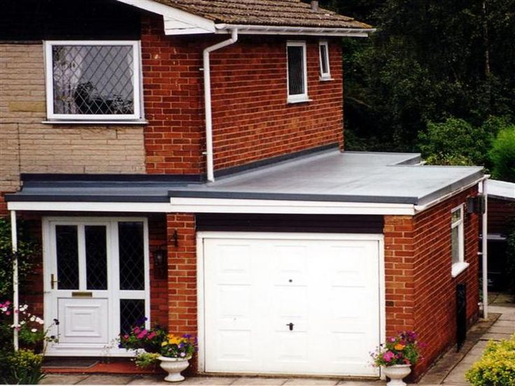 17 best ideas about flat roof materials on pinterest for Garage roofing options