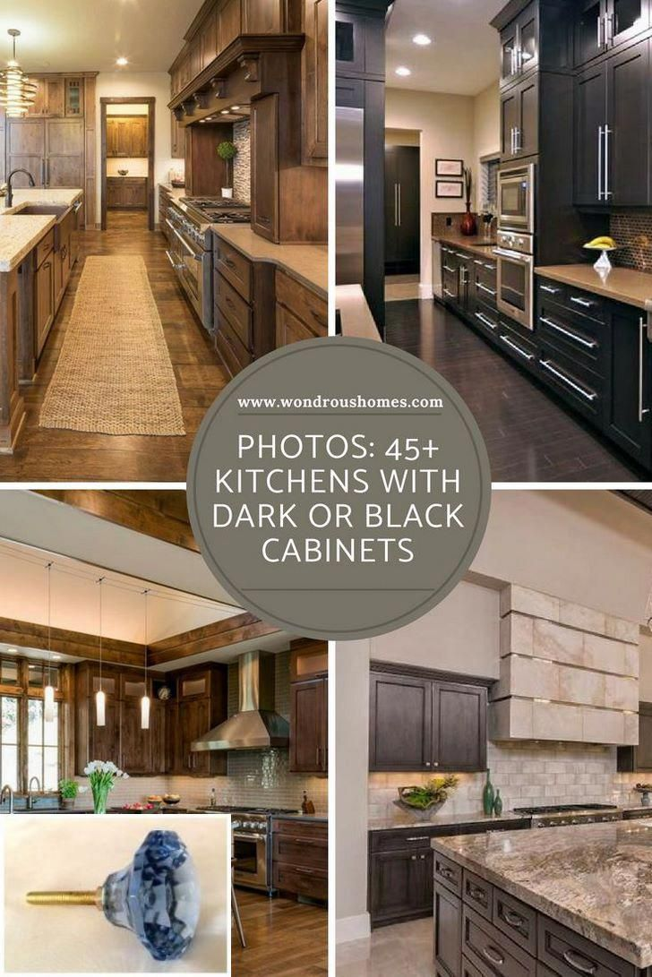 Dark Light Oak Maple Cherry Cabinetry And Wood Veneer Kitchen Cabinets Price Check The P Brown Kitchen Cabinets Black Kitchen Cabinets Home Decor Kitchen