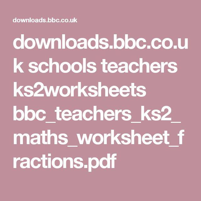 Bbc homework help ks2 – Bbc Maths Worksheets