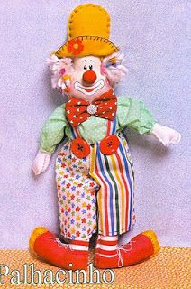 Coisinhas de Pano: boneca de pano-molde