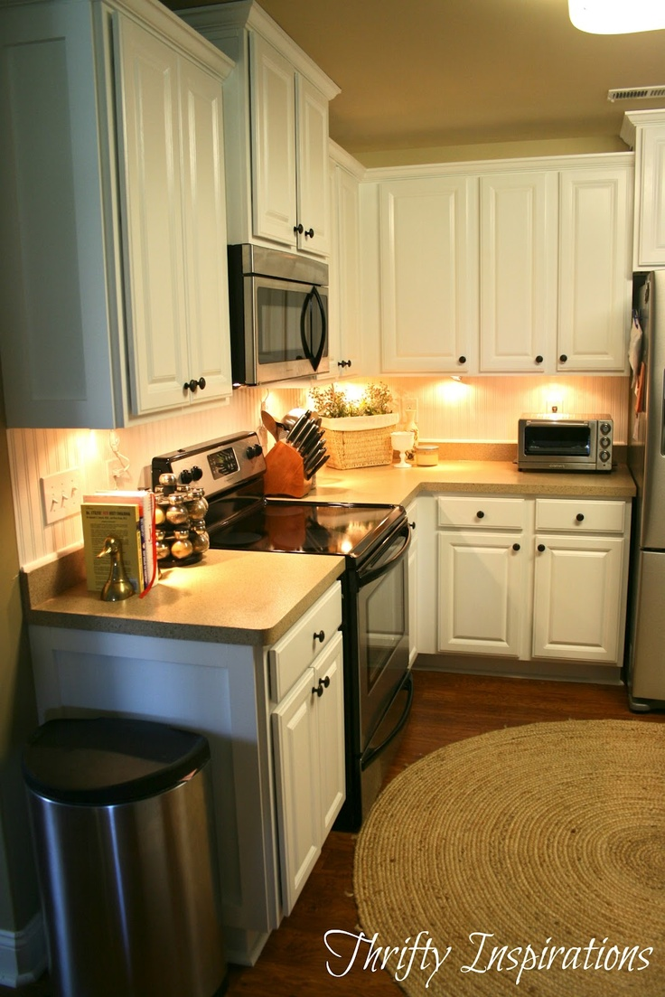 Kitchen Transformation Before And After: Rustoleum Cabinet And Counter Transformation Before And
