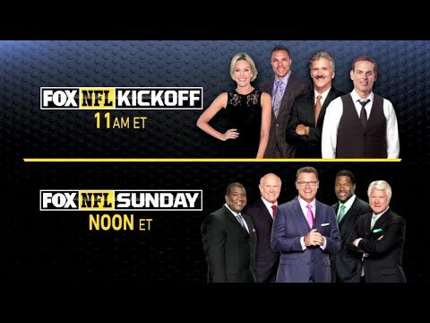 Watch: FOX NFL Sunday and FOX NFL Kickoff