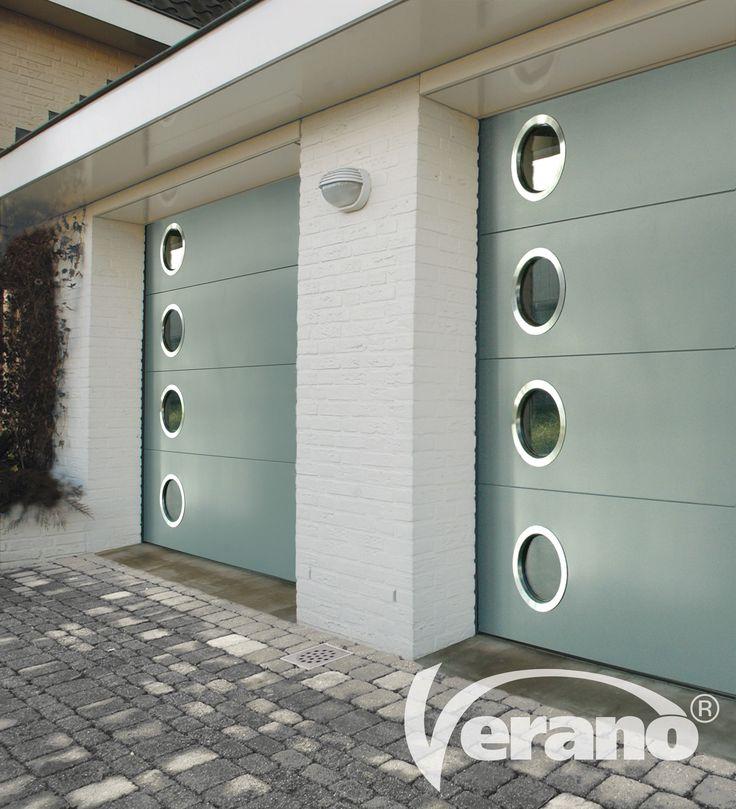 De #garagedeuren van Verano® zijn een passende oplossing voor iedere situatie, geheel afgestemd op uw wensen! #Verano #garagedoors