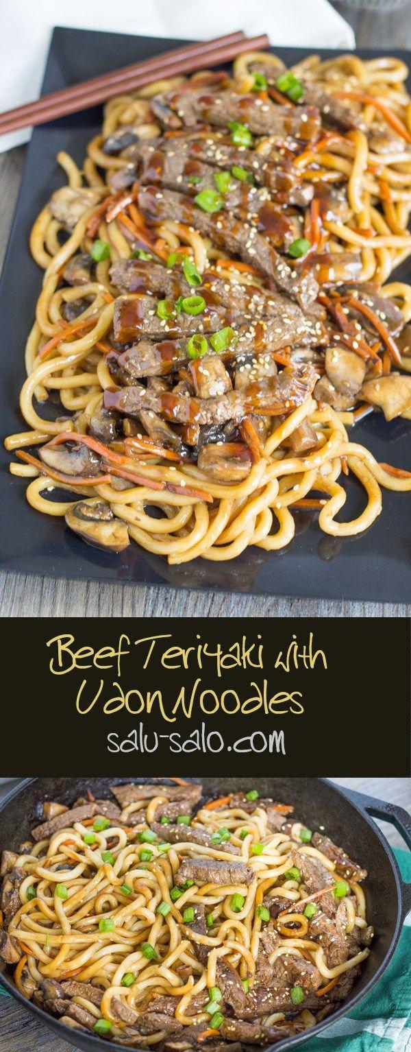 Beef Teriyaki Udon                                                                                                                                                     More