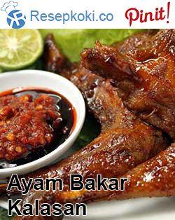 Resep Ayam Bakar Kalasan