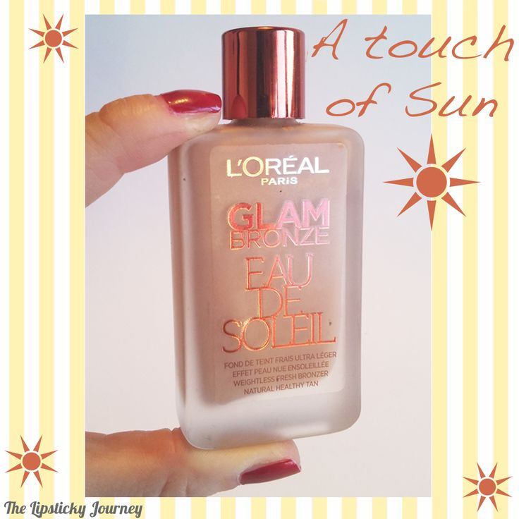 """A TOUCH OF SUN ☀️ Sublimare l'abbronzatura con un fondotinta leggero come l'aria, che illumina e perfeziona il colorito! L'Oréal Paris Glam Bronze """"Eau de Soleil"""""""
