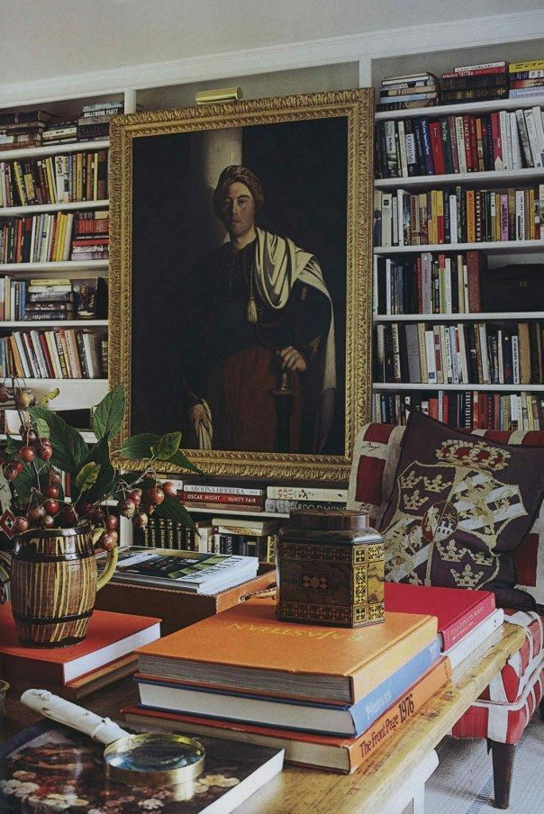 Anna Wintour's library | Mark D. Sikes: