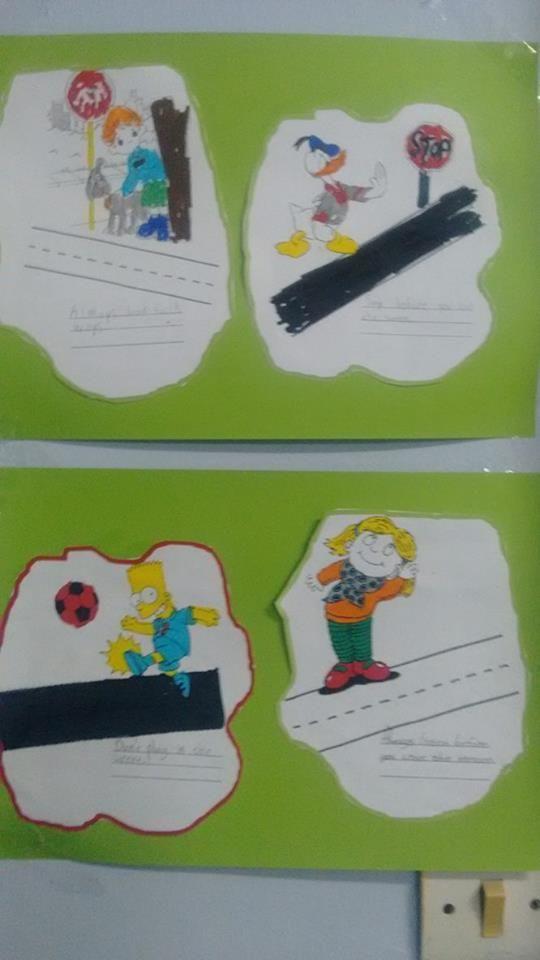 Road safety Bbr project! Chrysostomou Smyrnis school!