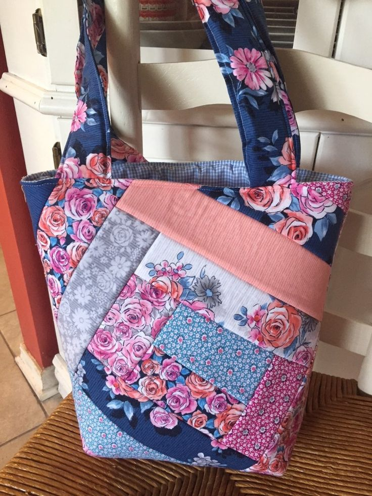 Crazy Quilt Tote Bag Tutorial – Sew Sassy by Pau…