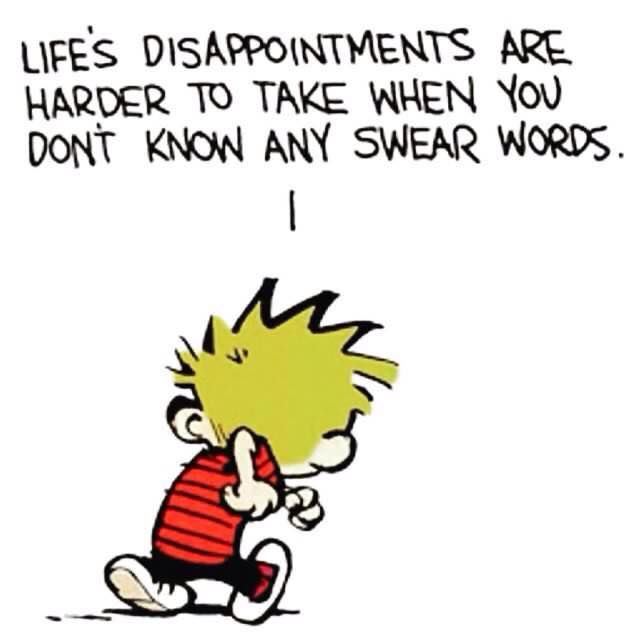 Poor Calvin.: