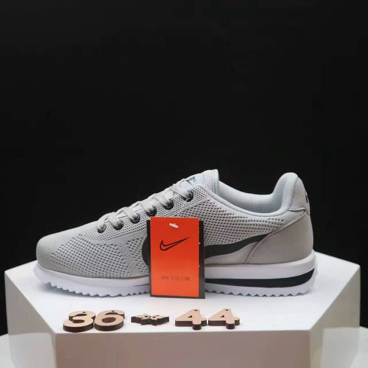 Nike Cortez Grey Black Women's shoes