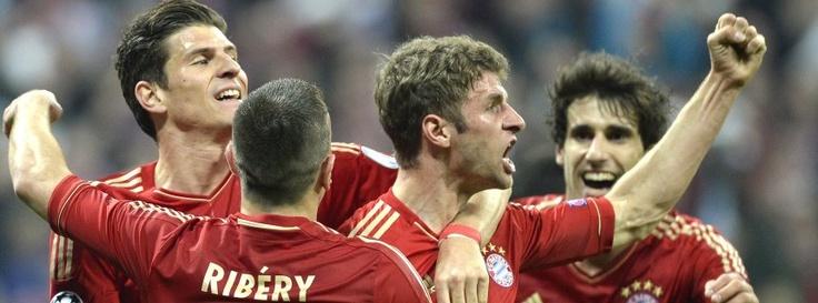 Champions League: Gala-Show der Super-Bayern