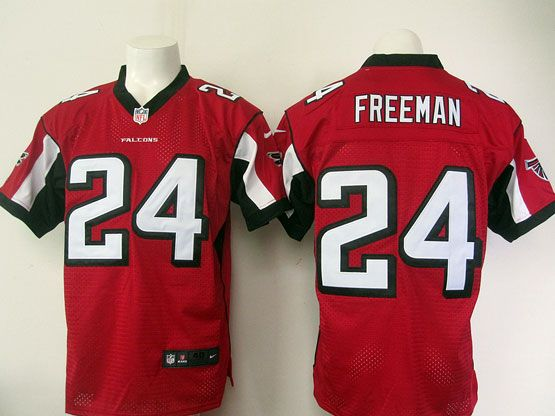 nfl atlanta falcons 24 freeman red elite jersey