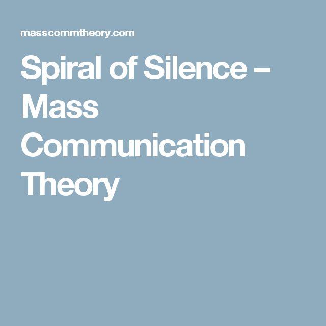 Spiral of Silence – Mass Communication Theory