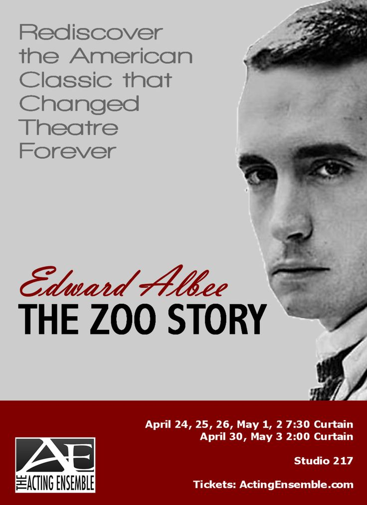 7 Best The Zoo Story Images On Pinterest The Zoo Edward Albee And
