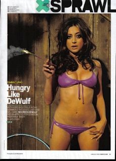 "Happy Birthday to ""Anger Management"" actress Noureen DeWulf! 2010 VIDEO INTERVIEW by Bob Andelman  NOUREEN DeWULF podcast excerpt: ""I play R.J. Berger's first real girlfriend (in MTV's The Hard Times of R.J. Berger). I look really different in the show. I have glasses; I play really young.""   https://mrmedia.com/2010/06/actress-noureen-dewulf/   #actress #angermanagement #CharlieSheen #Chuck #fX #GhostsofGirlfriendsPast #LivingBiblically #MatthewMcConaughey #Maxim #model #NBC #CBS…"