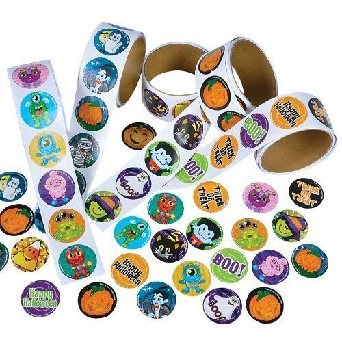 Rhode Island Novelty Assorted Halloween Stickers Pack of 500 ** Be sure to check out this awesome product.