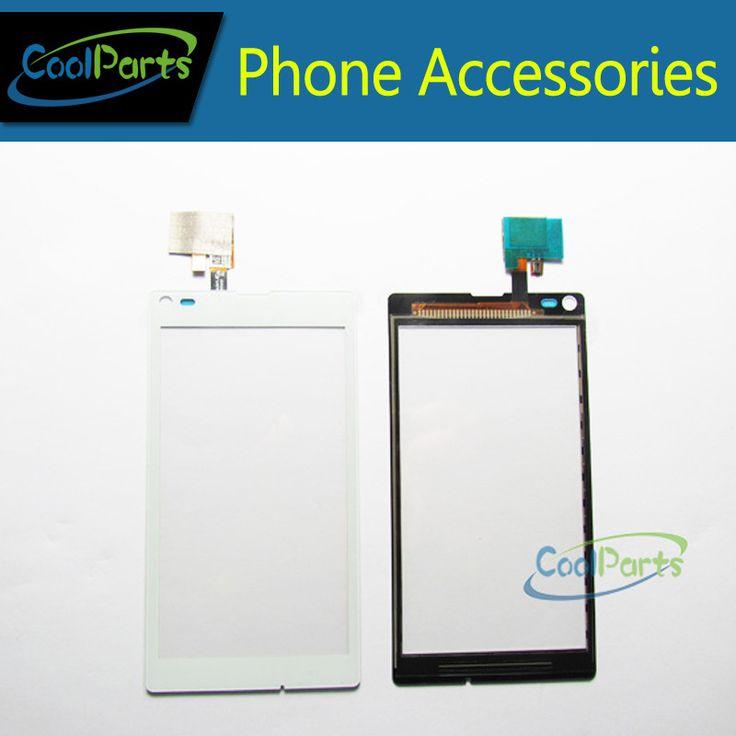Smartphone Reparatur Glaslinse Für Sony Xperia L S36h C2104 C2105 Touchscreen Digitizer Kostenloser Versand 1 Teil/los.