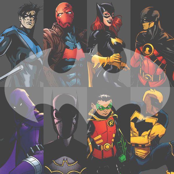 The batman's sidekicks
