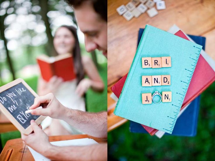 High School Sweethearts: School-Themed Engagement Photos