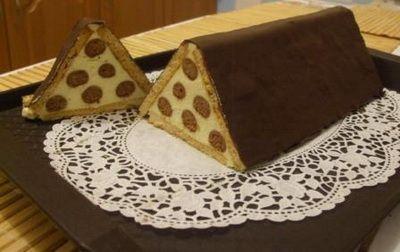 Mézes háztető sütemény recept
