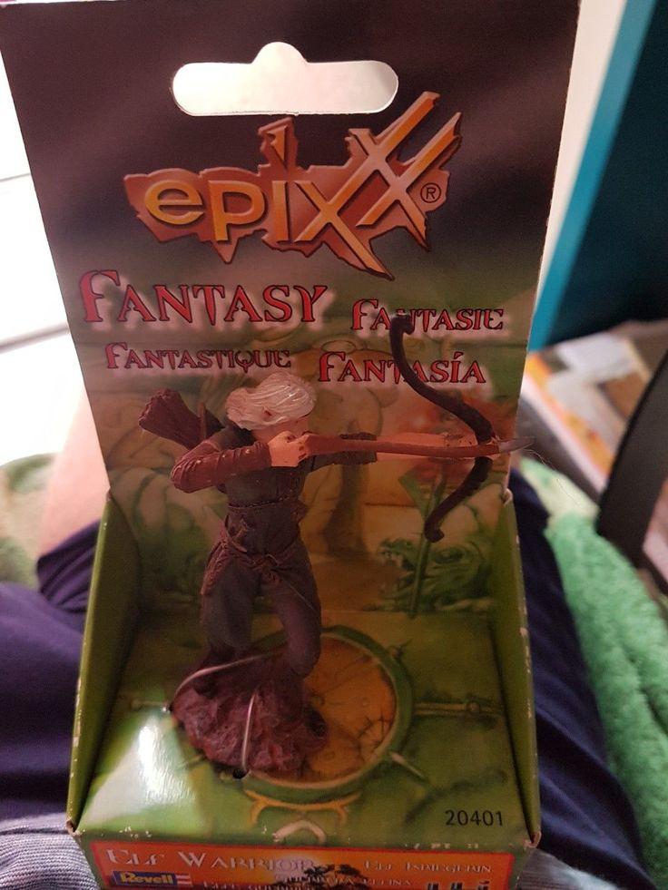 Revell Epixx Elf Kriegerin 20401 neu | eBay