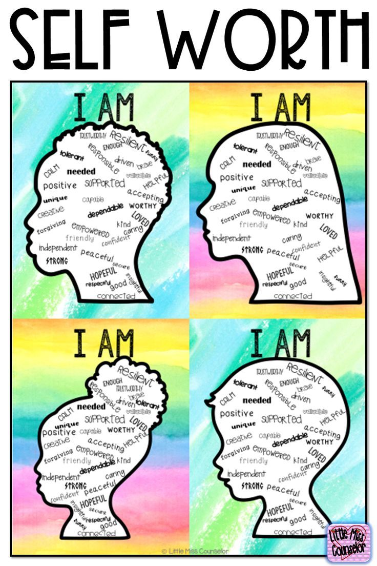 Self Worth I Am Posters And Writing With Editable Text For
