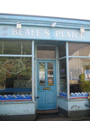Albert Square Walford E20 TV Studios Set Design Borehamwood Elstree EastEnders Beale's Plaice