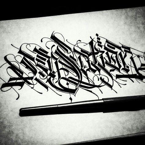 Sensation calligraffiti