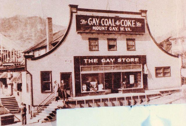 History of the Gay Coal and Coke Company, Mount Gay, Logan County, WV and it's owner Harry S. Gay, Jr.