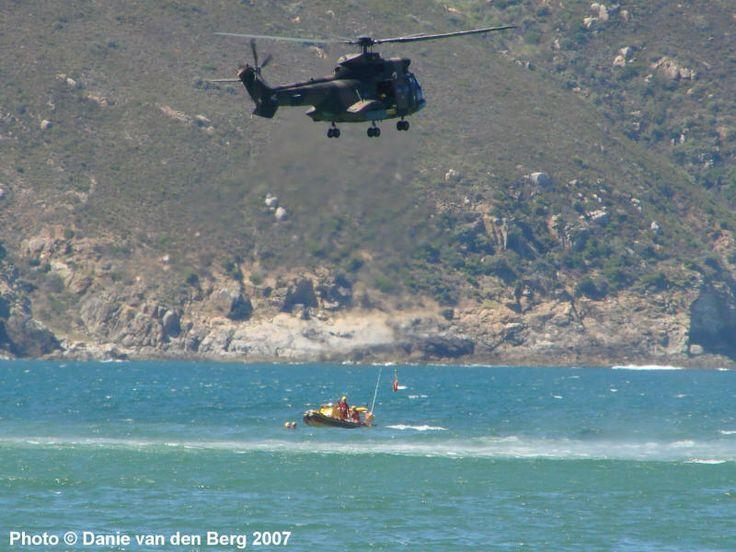 SAAF Oryx NSRI rescue