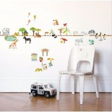 Wall Sticker - Border Zoo