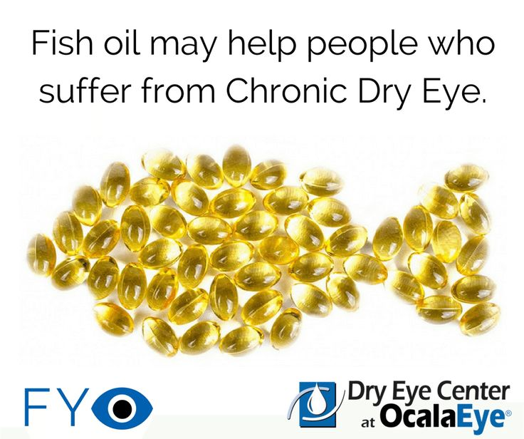 Fish oil and omega 3 fatty acids are two supplements that for Fish oil for dry eyes
