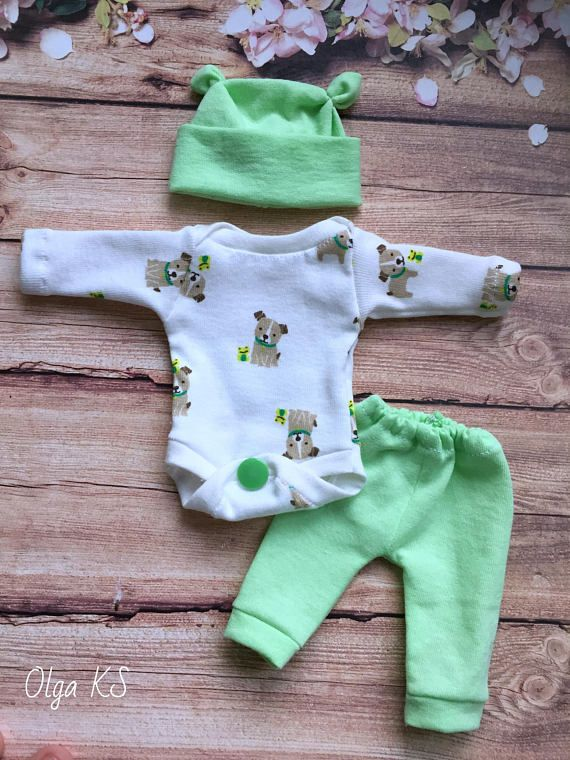5 6 7 8 9 10 11 12 Sculpted Ooak Baby Doll Clothes Bodysuit Cap Pants Tiny Mini Reborn Baby Doll Clothes Baby Doll Accessories Baby Doll Nursery