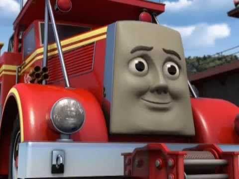 Thomas le petit train Au Feu Les Pompiers