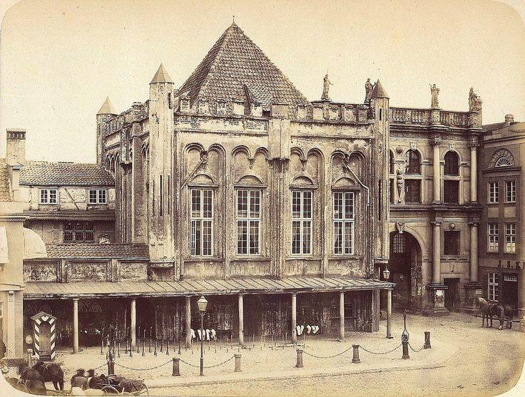 Danzig/Gdańsk - Golden Gate, 1865