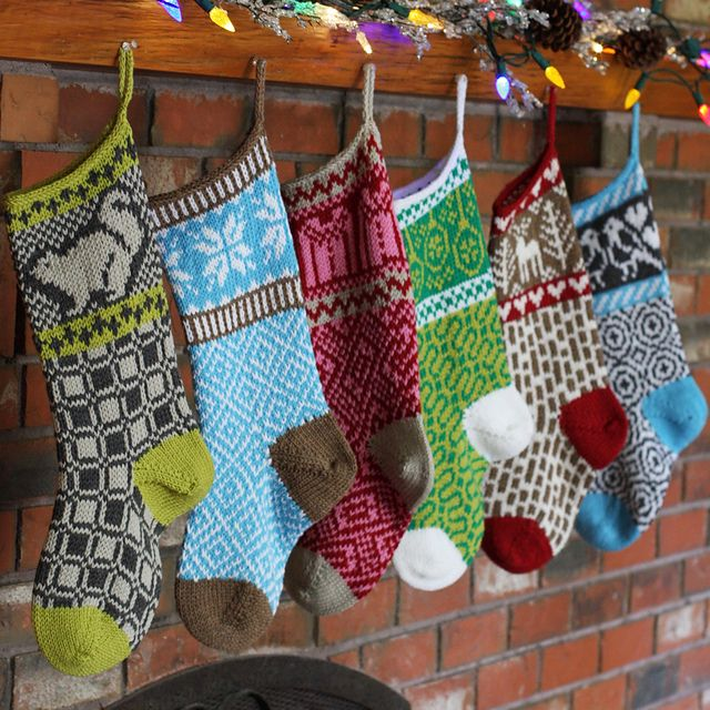 143 best christmas stockings images on pinterest knitted christmas stockings pattern by faye kennington fandeluxe Choice Image