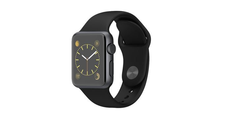 Apple Watch Sport 38mm Space Gray Aluminum Case with Black Sport Band  http://store.apple.com/xc/product/MJ2X2LL/A