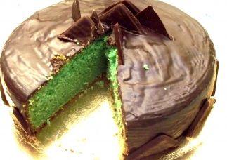 torta alla menta e cioccolato semplicissima