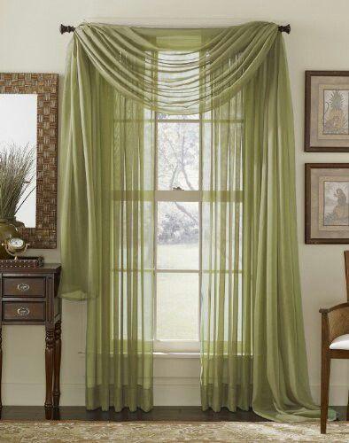 Sage green curtains, for master bedroom | Bedroom | Pinterest