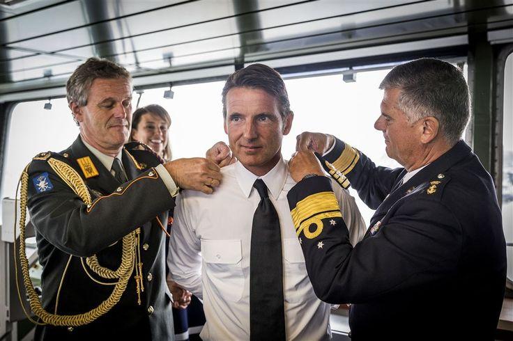 Prins Maurits bevorderd tot Kapitein ter zee.   1-9-2017