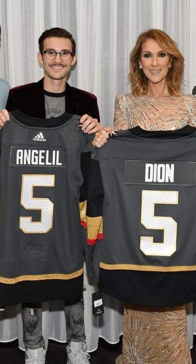 René Charles Angélil et Céline Dion ☝Novembre 2017 Las Vegas
