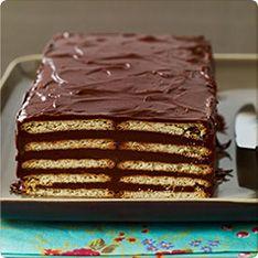 Gâteau chocolat et Véritable Petit Beurre