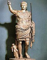 Primaportan Augustus, 1. vuosisadan alku, antiikin Rooma