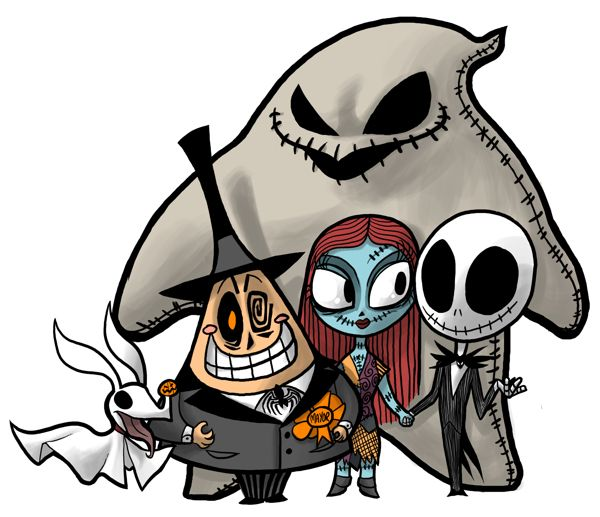 25 best ideas about nightmare before christmas characters