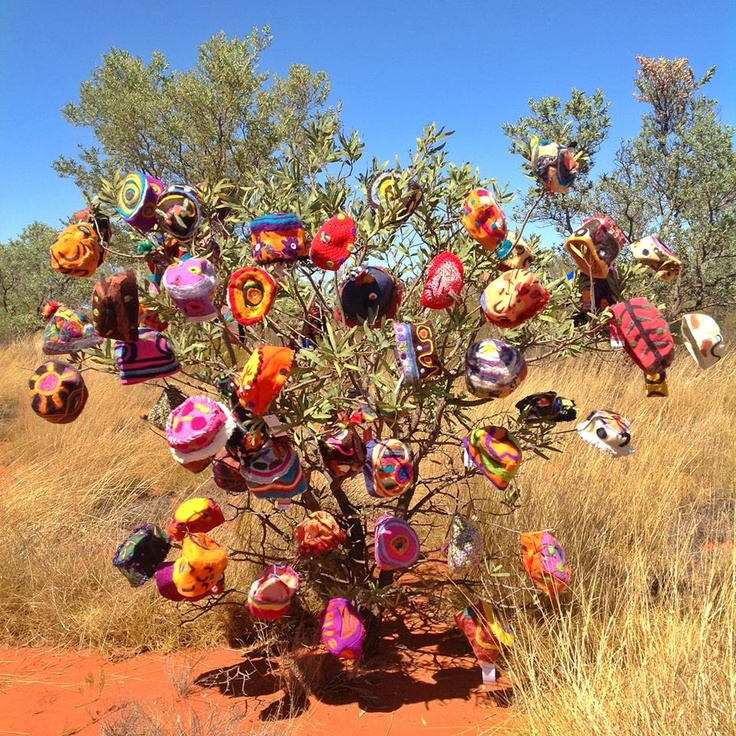 Beanies have started popping up all over Alice Springs as we get set for this weekend's Alice Springs Beanie Festival.