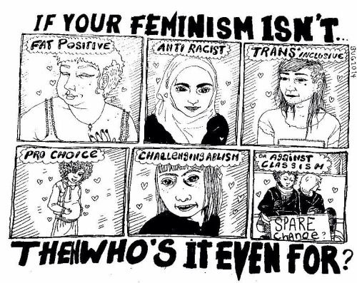 Intersectional Feminism Is A Requirement