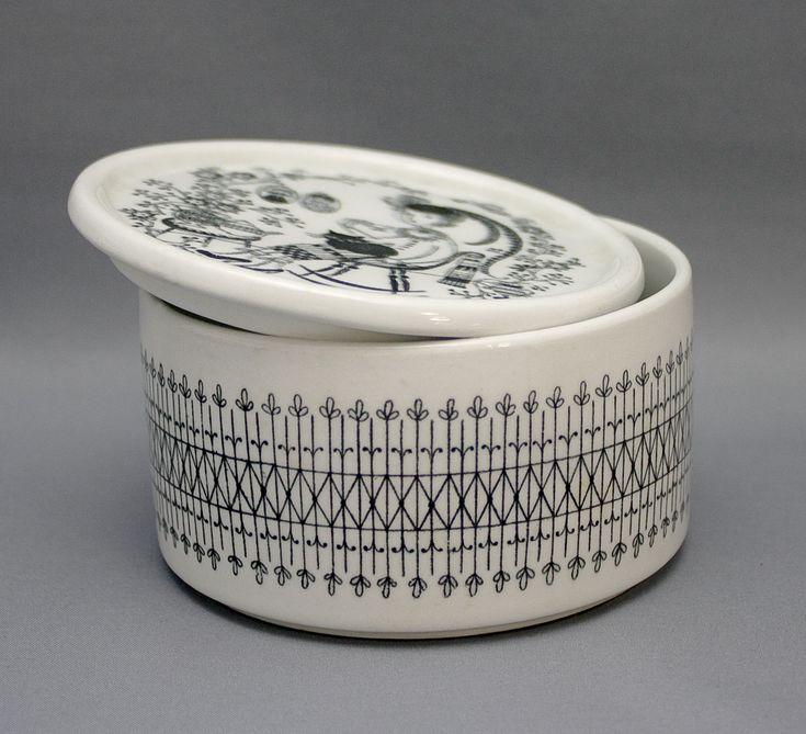Raija Uosikkinen / Arabia, sugar container (1950's)