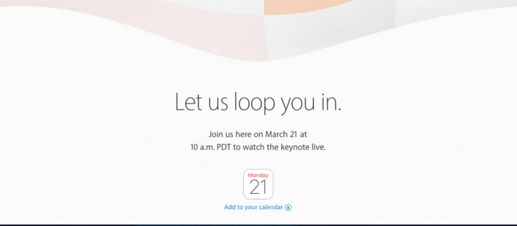 Apple Media Event on March 21 confirmed!