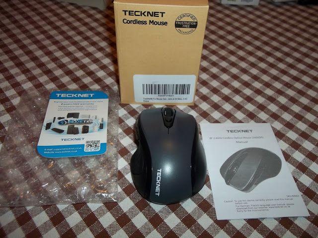 I consigli di Rocco,esperienze di ristoranti,alberghi,viaggi e dei prodotti testati: Pro Mouse Tecknet wireless 2400 DPI plug & play